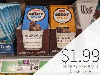 Alter Eco Organic Chocolate Bar Just $1.99 At Kroger