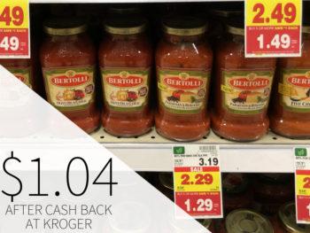Bertolli Pasta Sauce Just $1.04 At Kroger