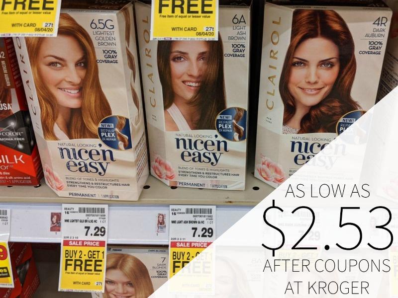 Clairol Hair Color As Low As $2.53 Per Box