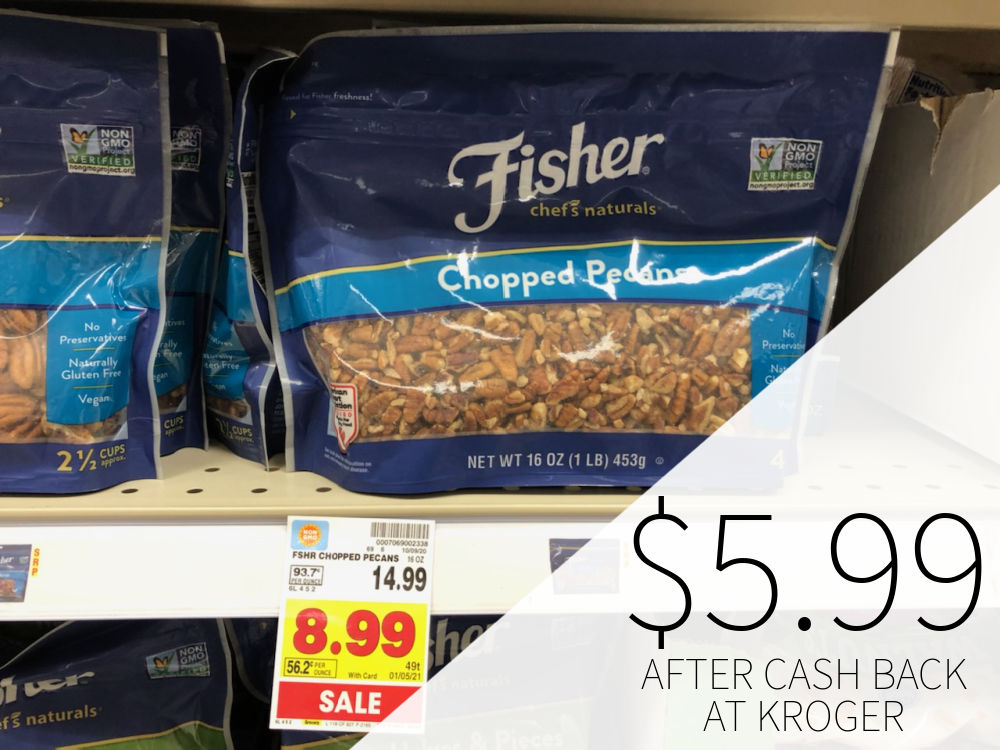 Fisher Nuts Only $5.99 At Kroger