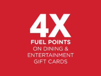 4x Kroger Fuel Points When You Buy Dining And Entertainment Gift Cards