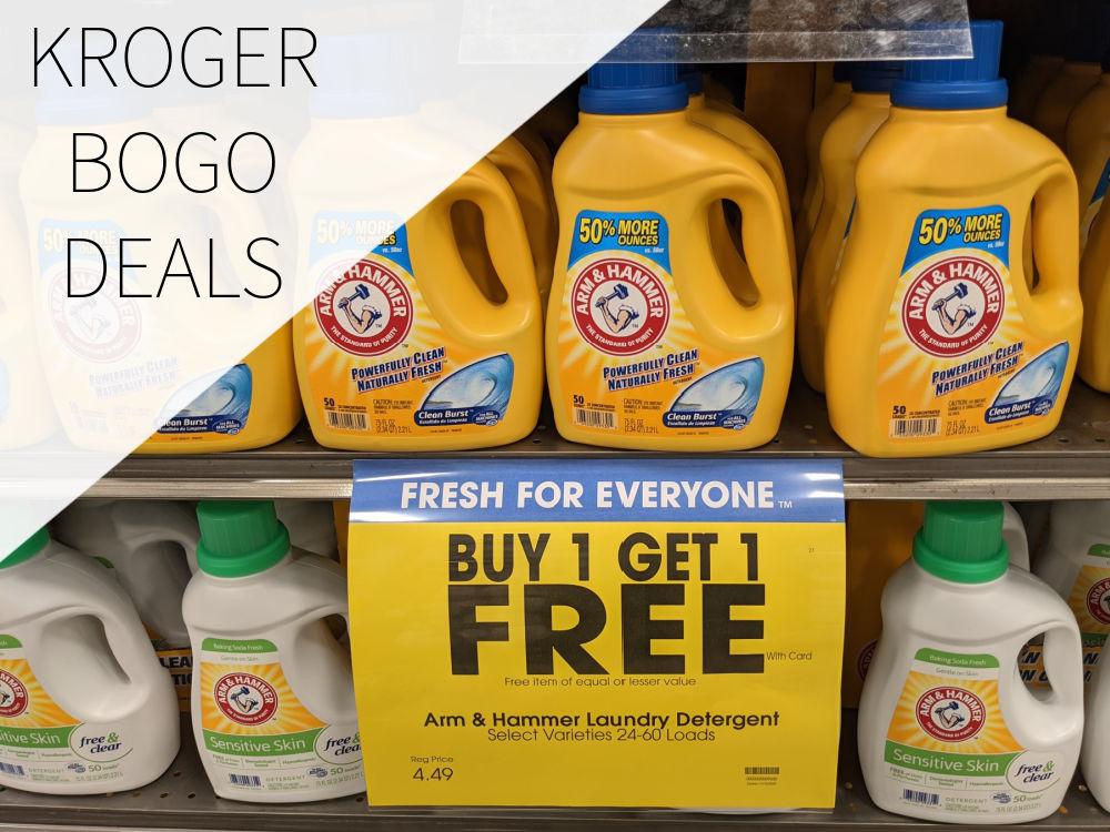 Kroger BOGO Deals Week Of 10/16