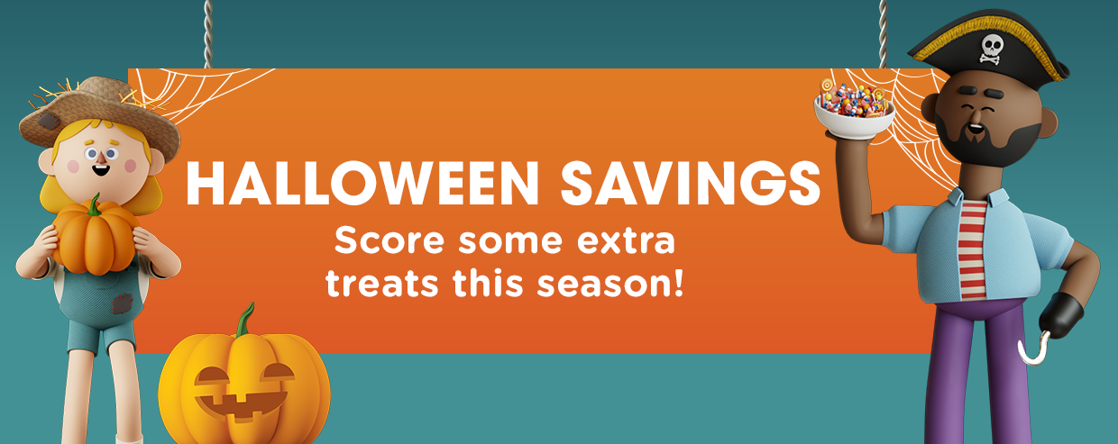 Kroger Halloween Savings Promotion - You Could Win a Year of FREE Groceries