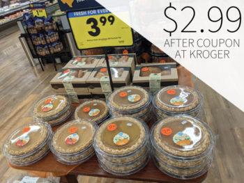 Kroger Bakery Apple or Pumpkin Pie Just $2.99 At Kroger