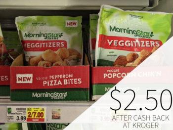 Morningstar Farms Veggitizers Just $2.50 Each At Kroger