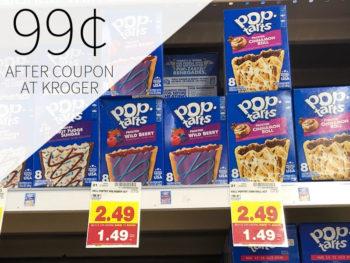 Kellogg's Pop Tarts Just 99¢ Per Box At Kroger