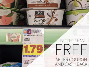 So Delicious Dairy Free Pairings Better Than FREE At Kroger