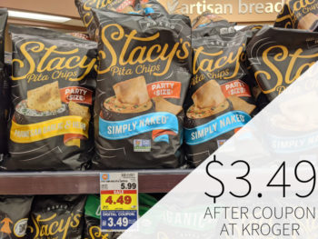 Stacy's Pita Chips As Low As $3.19 Per Bag At Kroger 2