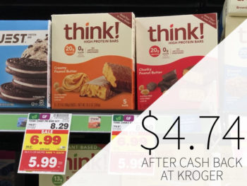 Think! High Protein Bars Multipacks Just $4.74 At Kroger