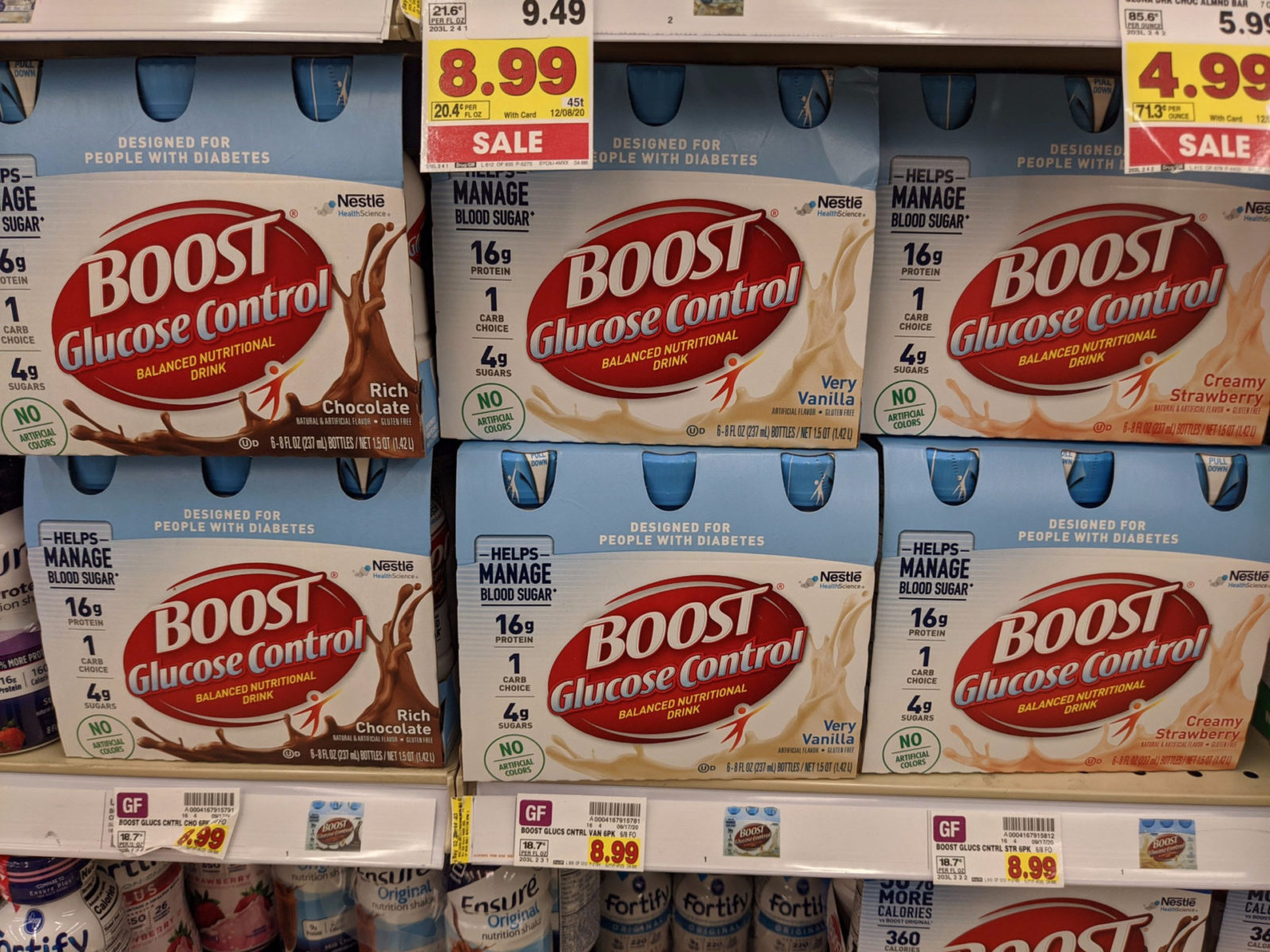 Just In Time For National Diabetes Awareness Month - Big Savings On BOOST Glucose Control® Drink At Kroger