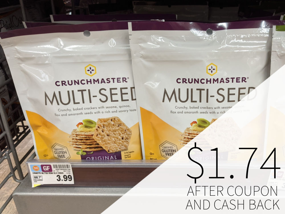 Crunchmaster Crackers As Low As $1.74 At Kroger