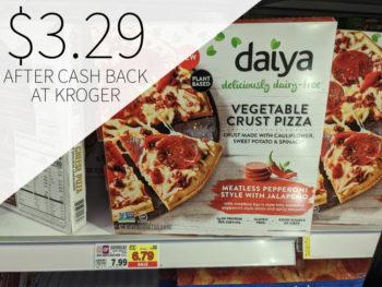 Daiya Vegetable Crust Pizza Just $3.29 At Kroger