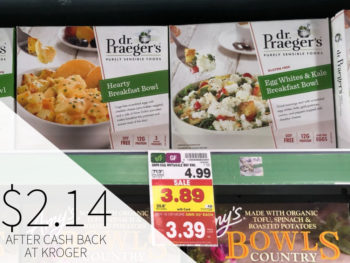 Dr. Praeger's Breakfast Bowl Just $2.14 At Kroger