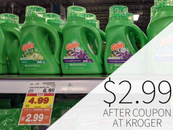 Gain Products Just $2.99 At Kroger