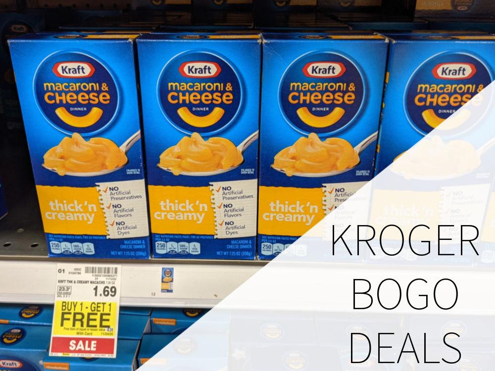 Kroger BOGO Deals Week Of 11/20