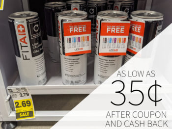 FitAid As Low As 35¢ At Kroger