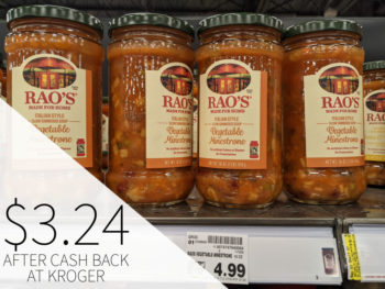 Rao's Soup Just $2.24 At Kroger