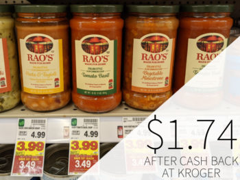 Rao's Soup Just $1.74 At Kroger