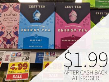 Zest Tea Just $1.99 At Kroger