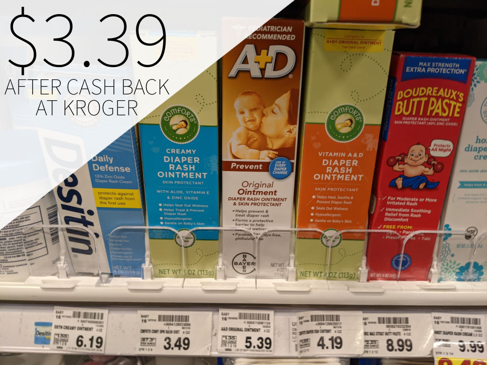 A+D Ointment Just $3.39 At Kroger