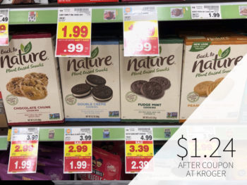Back To Nature Cookies Or Crackers Just $1.24 At Kroger