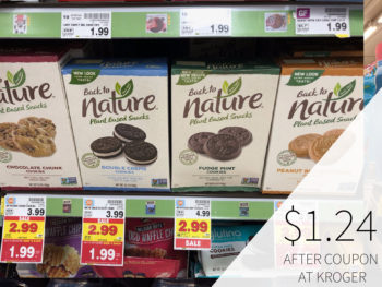 Back To Nature Cookies Or Crackers Just $2.24 At Kroger (Regular Price $4.29)