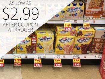 Carnation Breakfast Essentials As Low As $1.99 At Kroger 1