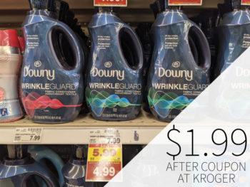 Downy Wrinkle Guard Just $1.99 At Kroger