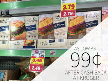 Dr. Praeger's Pure Plant Protein Burgers As Low As 99¢ At Kroger