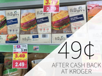 Dr. Praeger's Pure Plant Protein Burgers As Low As 49¢ At Kroger