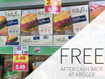 Dr. Praeger's Pure Plant Protein Burgers As Low As 49¢ At Kroger 1