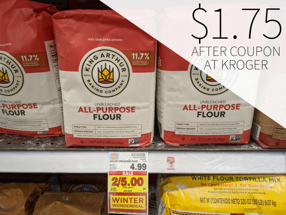 King Arthur Flour Just $1.75 At Kroger