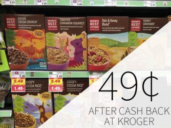 Mom's Best Cereal Just $1.24 At Kroger 1