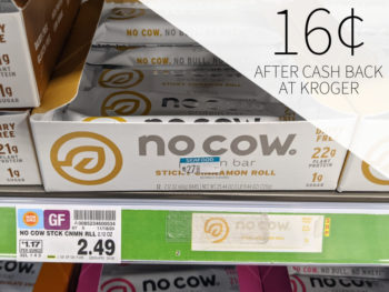 No Cow Protein Bar Just 16¢ Per Bar At Kroger 1