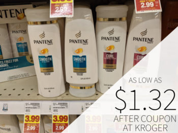 Pantene Shampoo or Conditioner Just $1.32 Per Bottle At Kroger 2