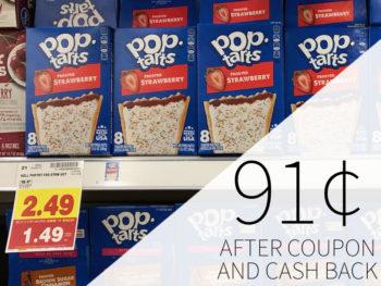 Pop Tarts Just 91¢ Per Box At Kroger