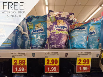 Snuggle Booster Is FREE At Kroger