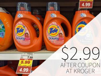 Tide Laundry Detergent Just $2.99 At Kroger