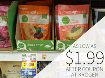 Simple Truth Dried Apricots Just $1.99 At Kroger