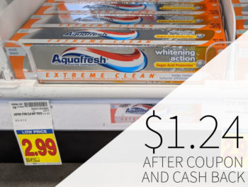 Aquafresh Extreme Clean Toothpaste As Low As $1.99 At Kroger 1