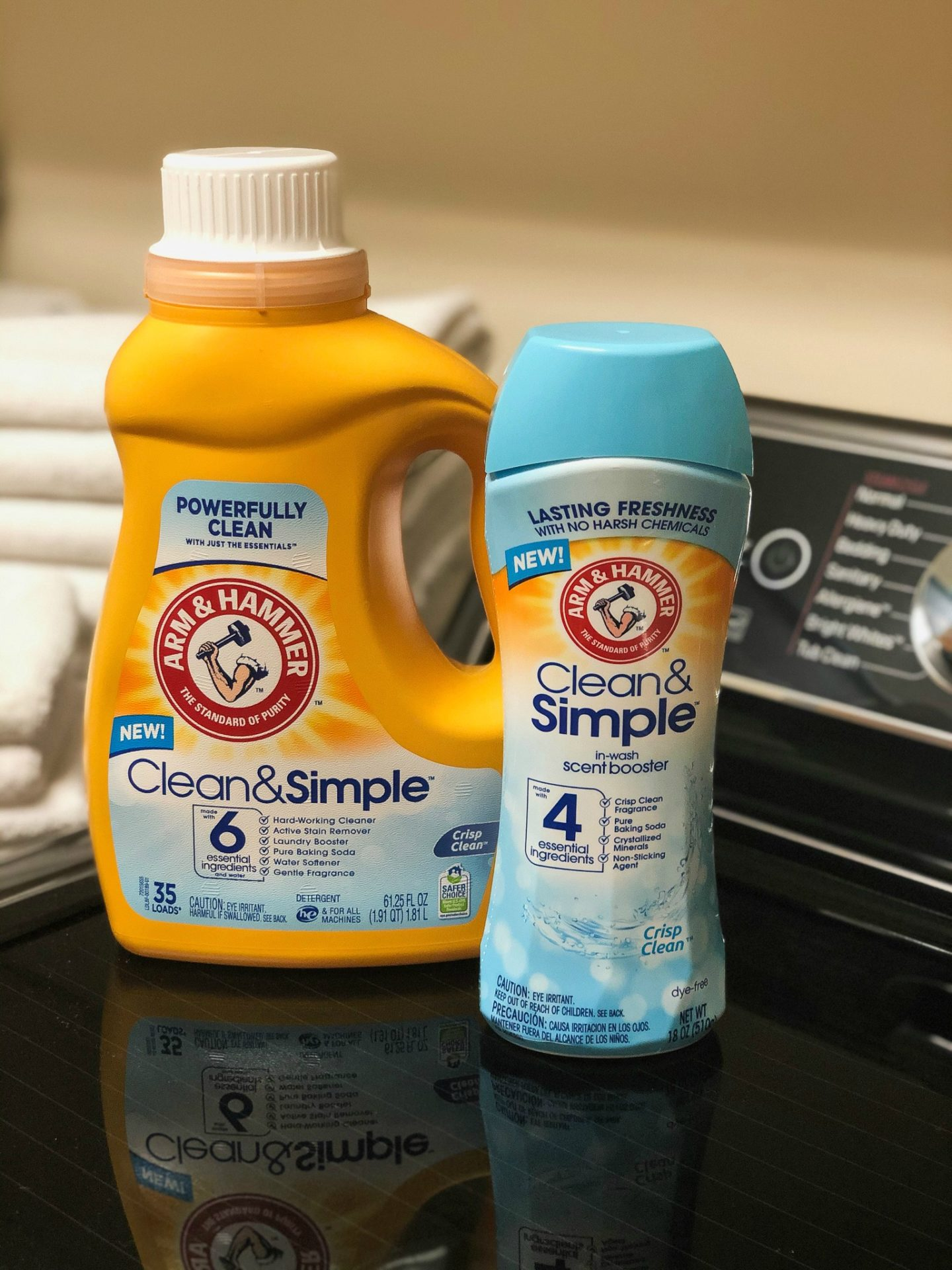 Save On ARM & HAMMER™ Clean & Simple™ Liquid Laundry Detergent And In-Wash Scent Booster - Get A Powerful Clean At A Smart Low Price 1