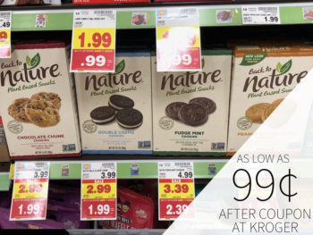 Back To Nature Cookies Or Crackers Just $1.24 At Kroger 2