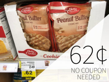 Betty Crocker Cookie Mix Just 62¢ At Kroger - No Coupon Needed