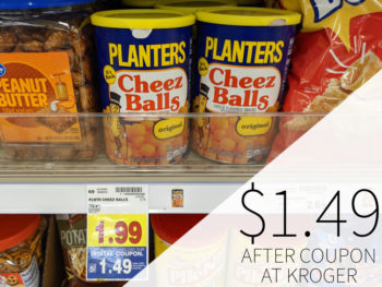 Planters Cheez Balls Only $1.49 At Kroger