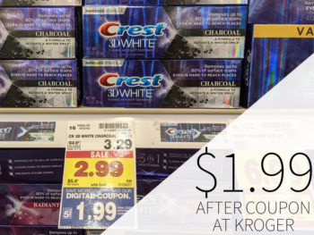 Crest Toothpaste As Low As 79¢ At Kroger 1