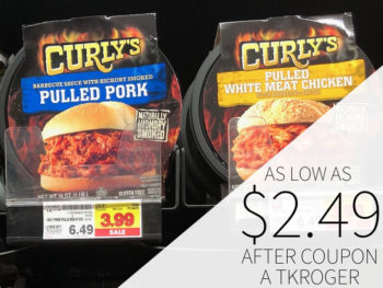 Curly's Pulled Pork Or Chicken As Low As $2.49 At Kroger