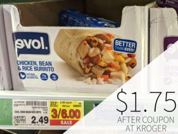 Evol Burritos Just $1.75 Each At Kroger