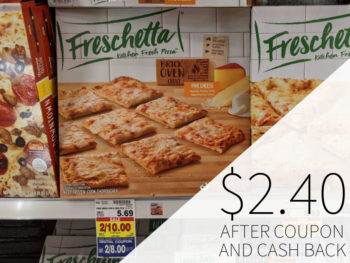 Freschetta Frozen Pizza Just $2.40 Each AT Kroger