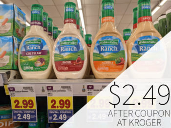 Hidden Valley Salad Dressing Just $2.49 At Kroger