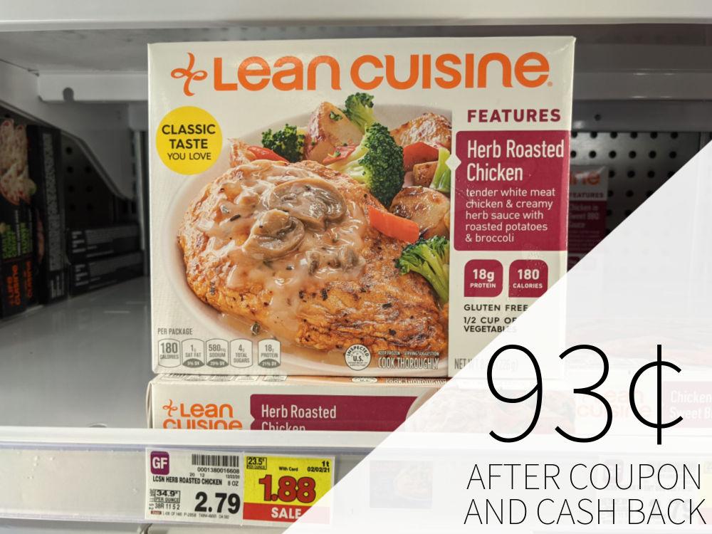 Lean Cuisine Entrees As Low As 93¢ Per Box At Kroger